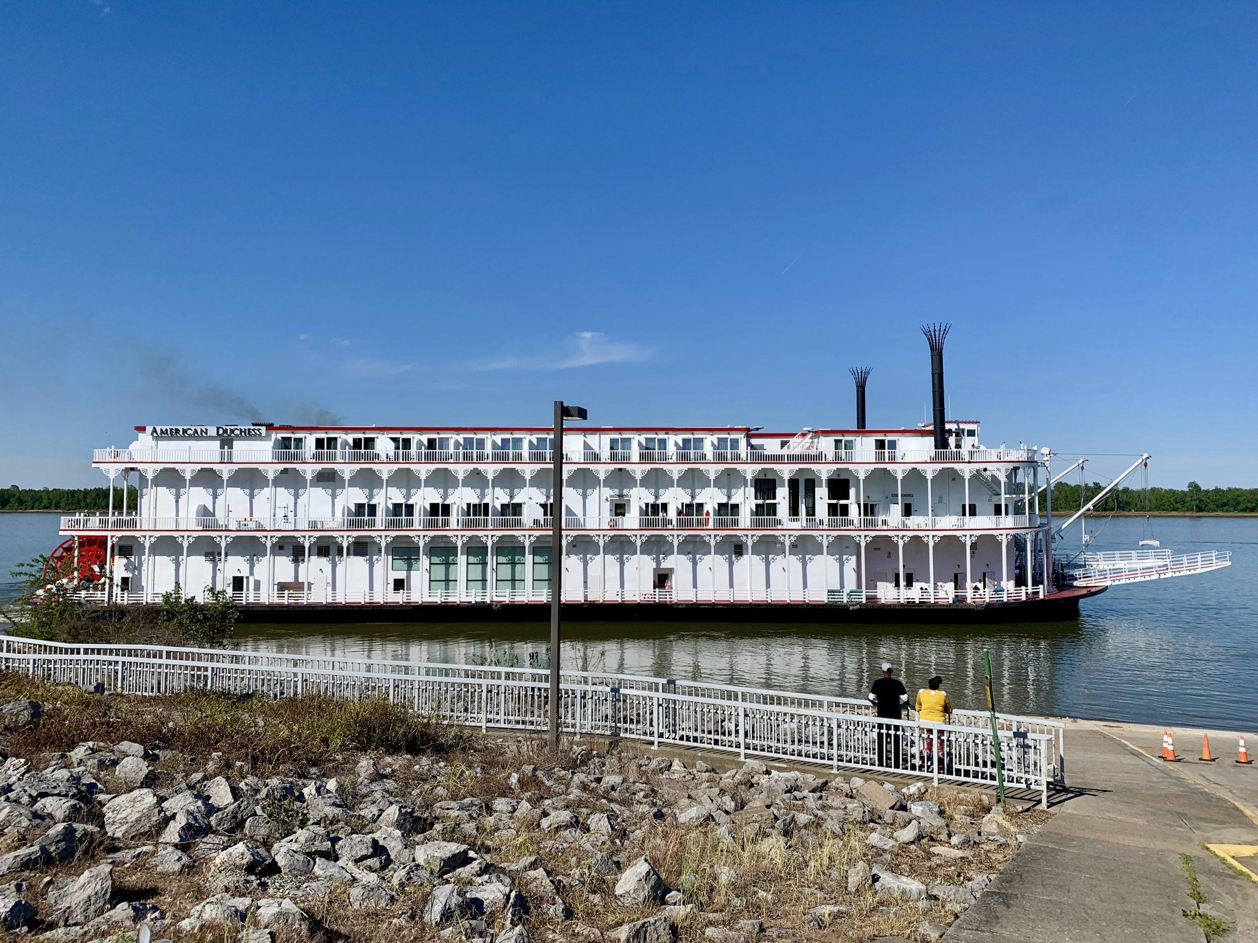 American Duchess riverboat at the Port of Paducah in Paducah, KY