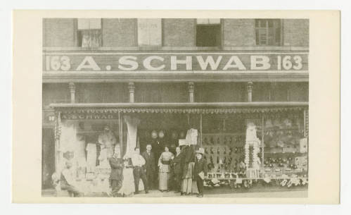 A. Schwab postcard